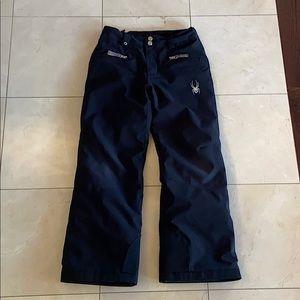 Spyder Junior Snow Ski Pants Ski - Black - size 10